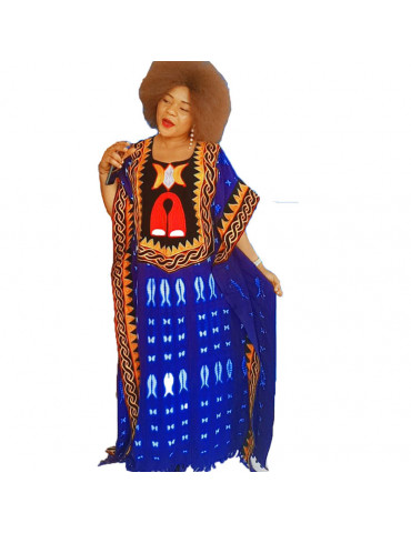exotic toghu boo boo dress