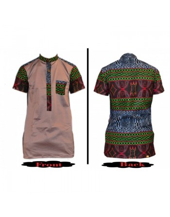 Short sleeve casual toghu...